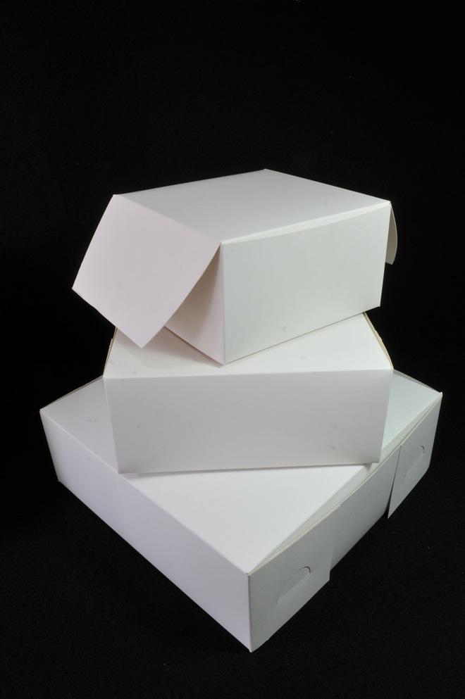 Cake boxes 12 x 12 x 4 inch, 298 x 298 x 102mm, Bundles of 100 image 0