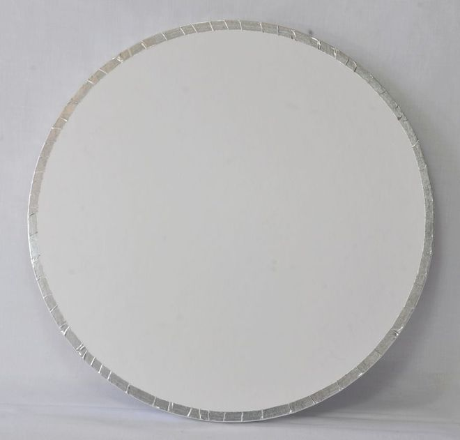 "Polystyrene Cake Board, Round, Taped Edge, 8"" (200mm) image 0"