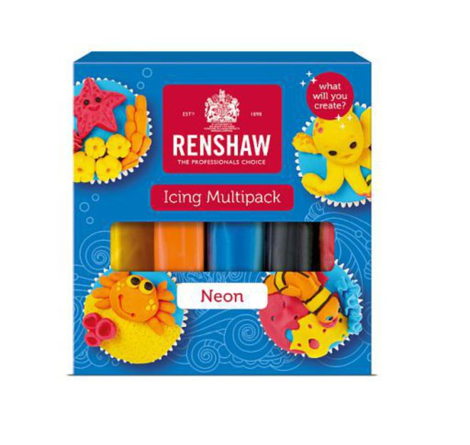Renshaw Multi Pack (5 x 100g - Neon Colours) image 0