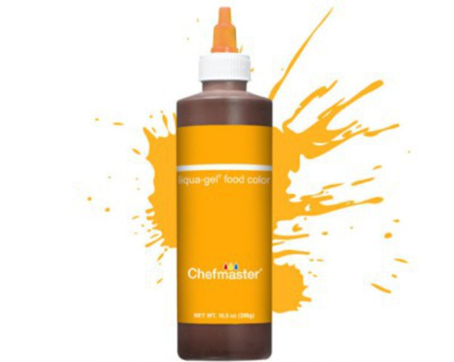 Chefmaster Liquid Colour Golden Yellow 10.5oz image 0