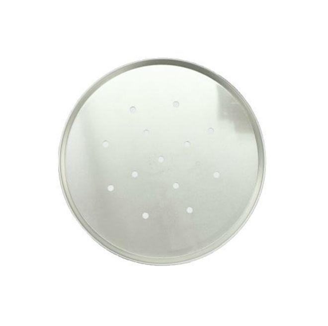 330 x 25mm Aluminium Pizza Pan with holes image 0