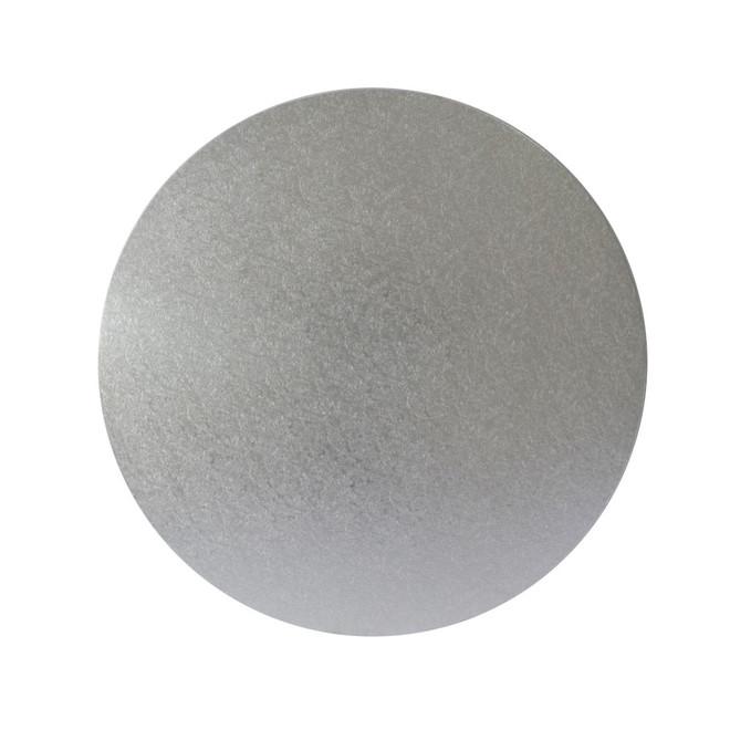 "Round 5"" MDF Board, Silver image 0"