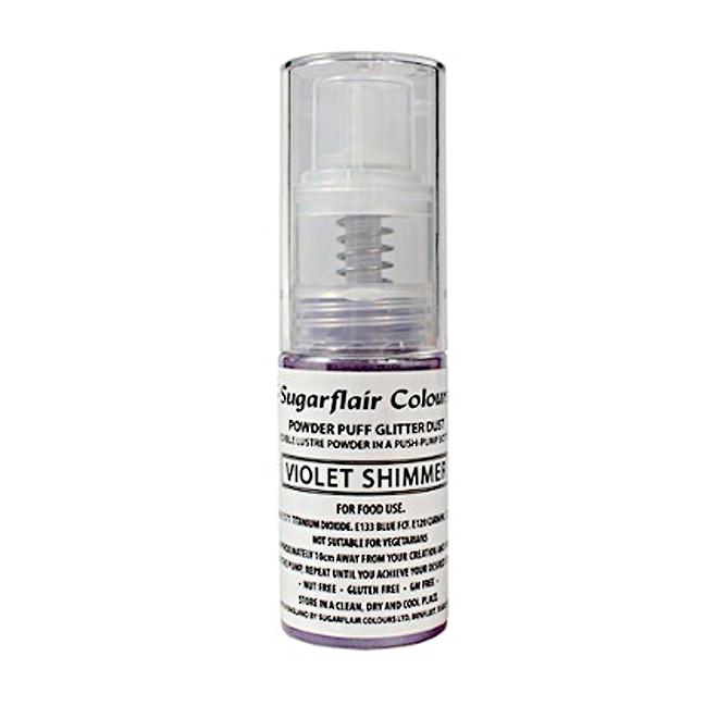 Sugarflair Edible Violet Shimmer Lustre (Pump) 10gm image 0