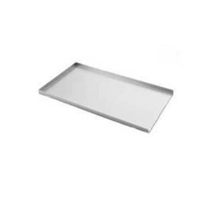 "3 Sided Alum. Tray 736x457x25mm (29 x18"") 1.6mm Base image 0"