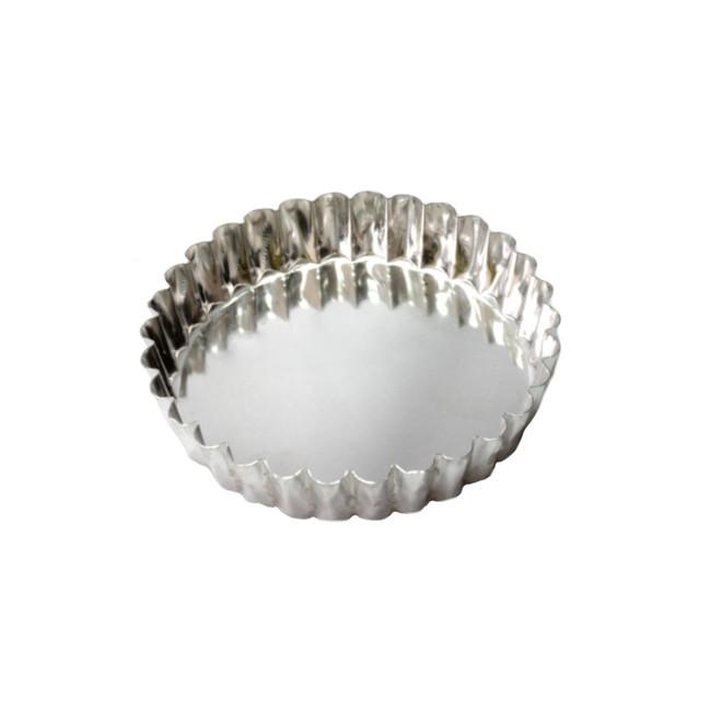 Palletized Quiche Tins (15) per tray Tin 120x25mm image 0