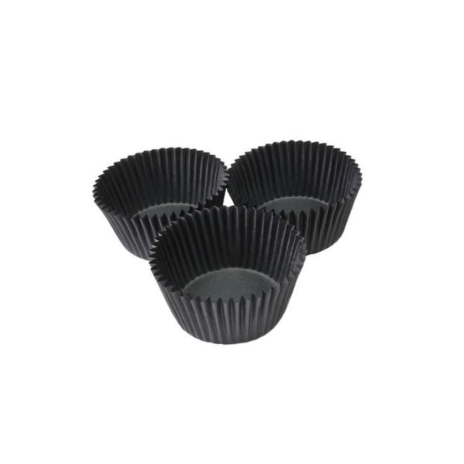 Paper Cases Black 30x23mm (500) image 0