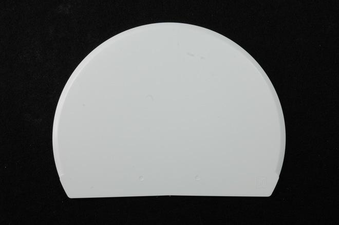 White Plastic Scraper 160 x 118mm (Flexible) image 0