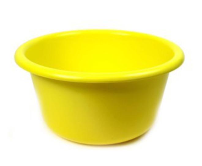 17cm diameter 1.6 litre Plastic Bowl (Astd colours) image 0