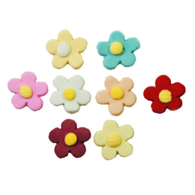 Tiny Icing Daisy, 8mm (Box of 360) 8 Assorted colour image 0