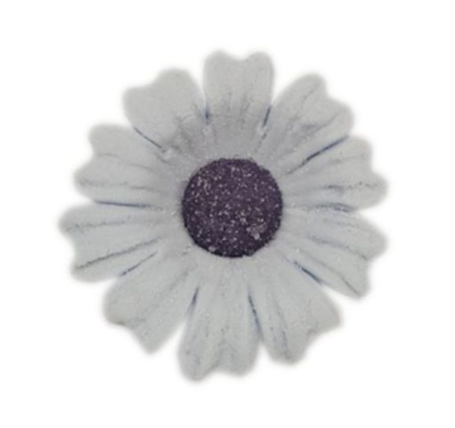 Daisy Plum Frost Icing Flower 40mm (32) image 0