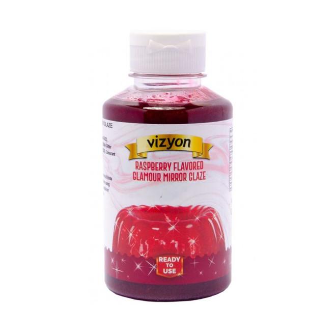 Raspberry Mirror Glaze 0.5kg Bottle image 1