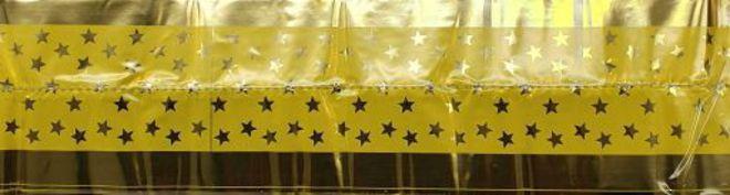 Cake Band Star Yellow/Gold 63mm (1m) image 0