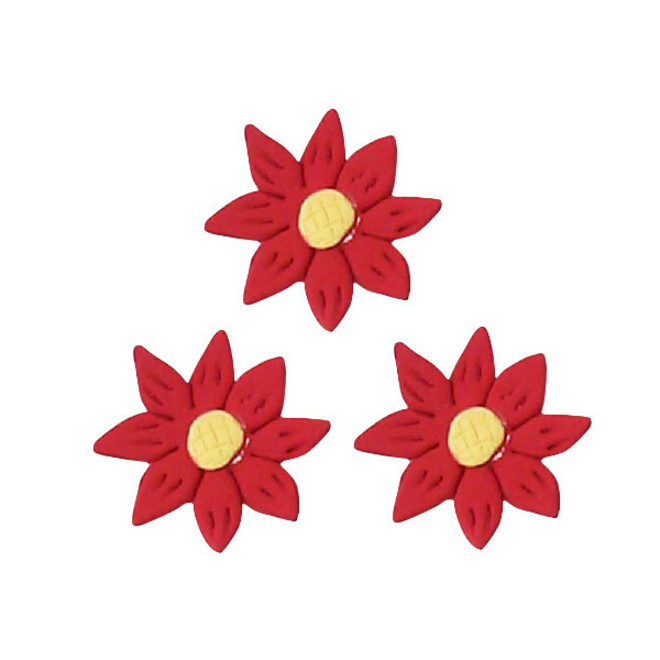 Icing Red Daisy, 35mm.  Box of 120 image 0