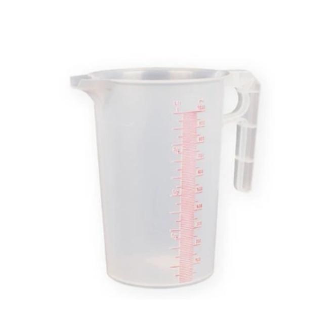 1 litre Plastic Measuring jug image 0