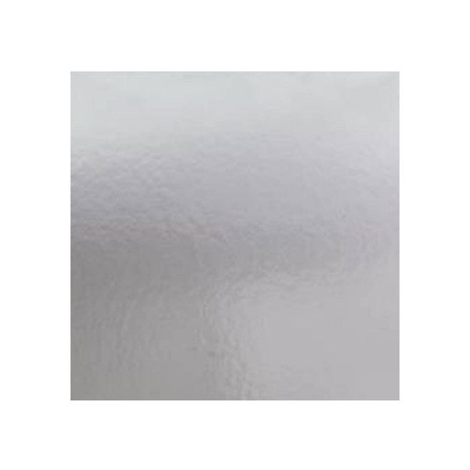 """250mm or 10"""" Square 2mm Cake Card Silver image 0"""