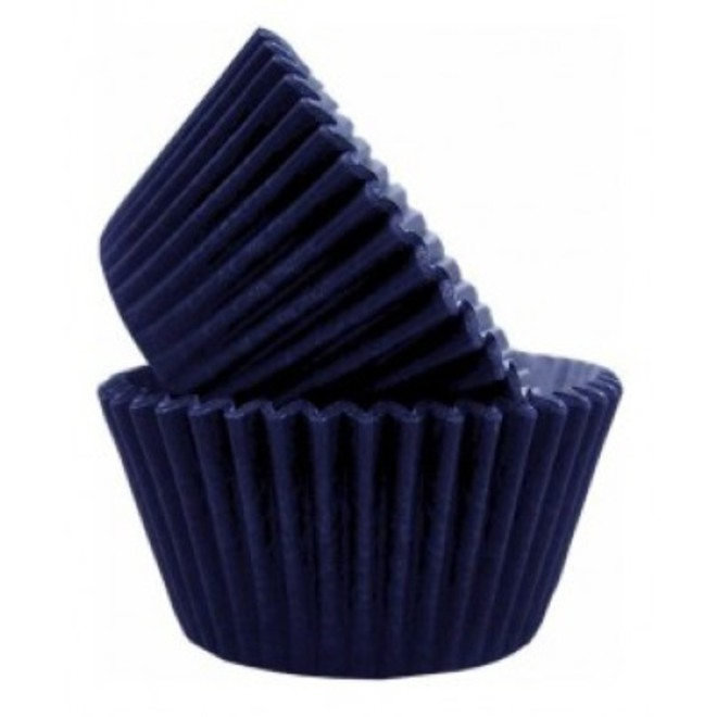 Navy Paper Cups  30x21mm (500) image 0