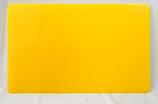 Cutting Board Size 23 x 38cm - available in  White,Blue,Green,Yellow,Red,Brown image 0