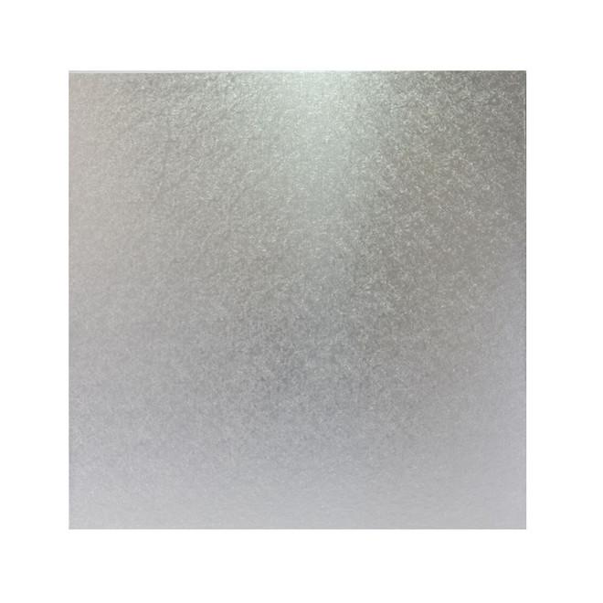"""Square 10"""" MDF Board, Silver image 0"""