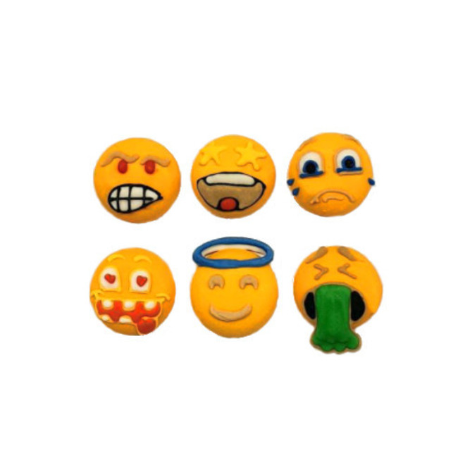 Emoji Faces - Funny Faces 20mm (30) image 0