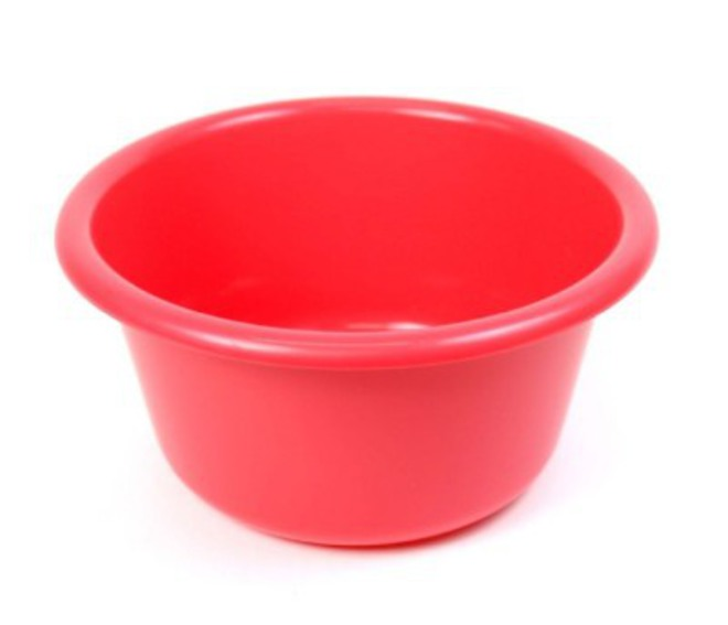 36cm diameter 9.5 litre Plastic Bowl (Astd colours) image 0