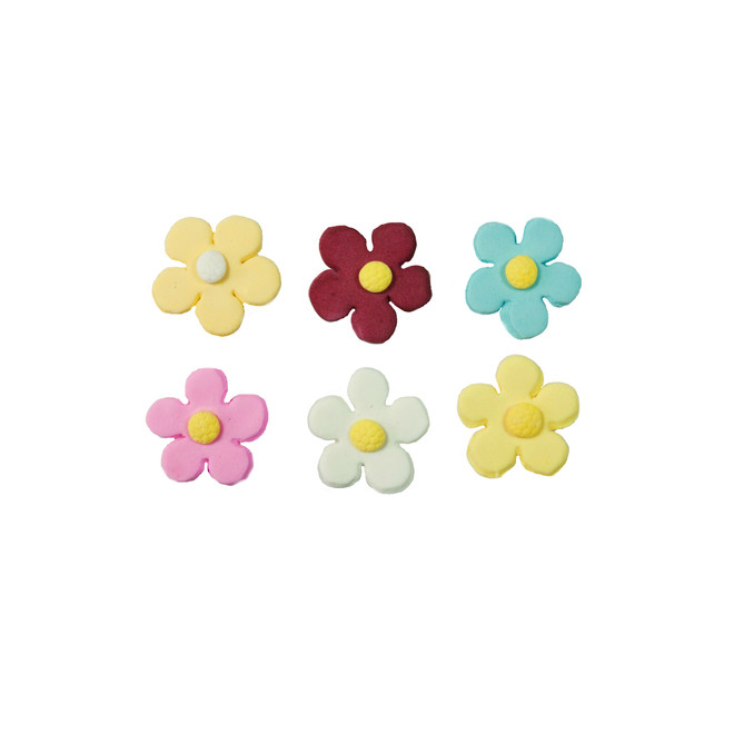 Icing Daisy 23mm, Assorted Colours (Box of 360) image 0