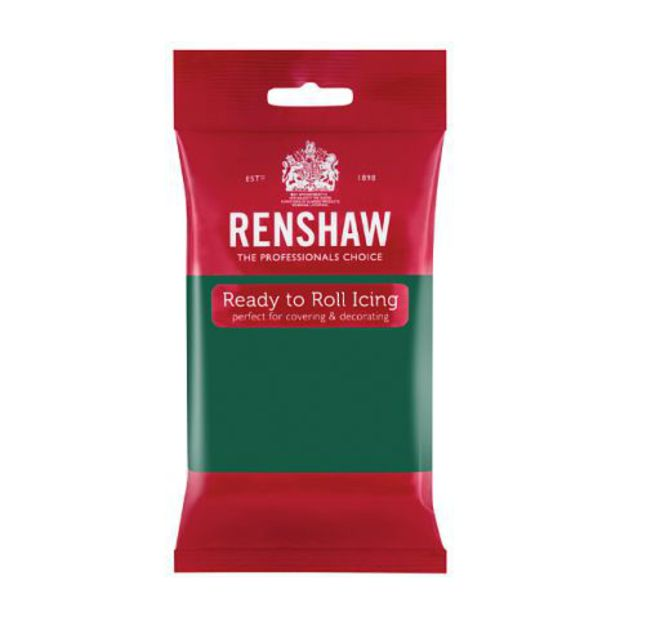Renshaw Emerald Green Icing 250g - SOLD OUT image 0