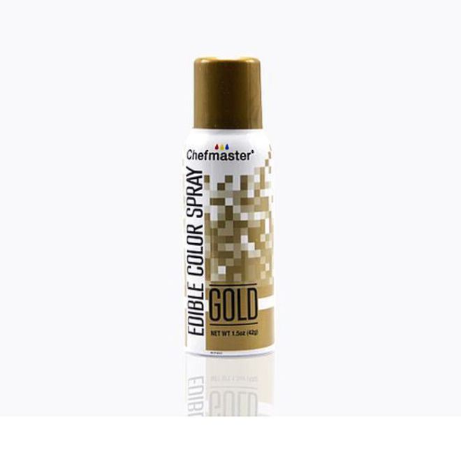 Chefmaster Edible Gold Spray - 1.5oz - SOLD OUT - DUE SEPT image 0