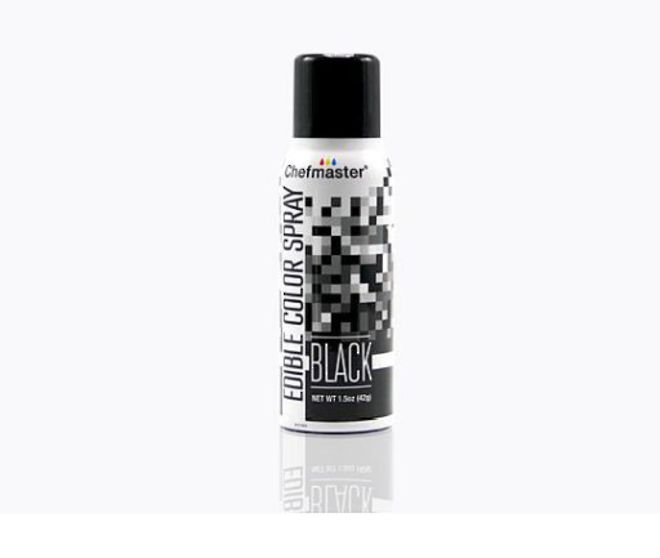 Chefmaster Edible Black Spray - 1.5oz image 0