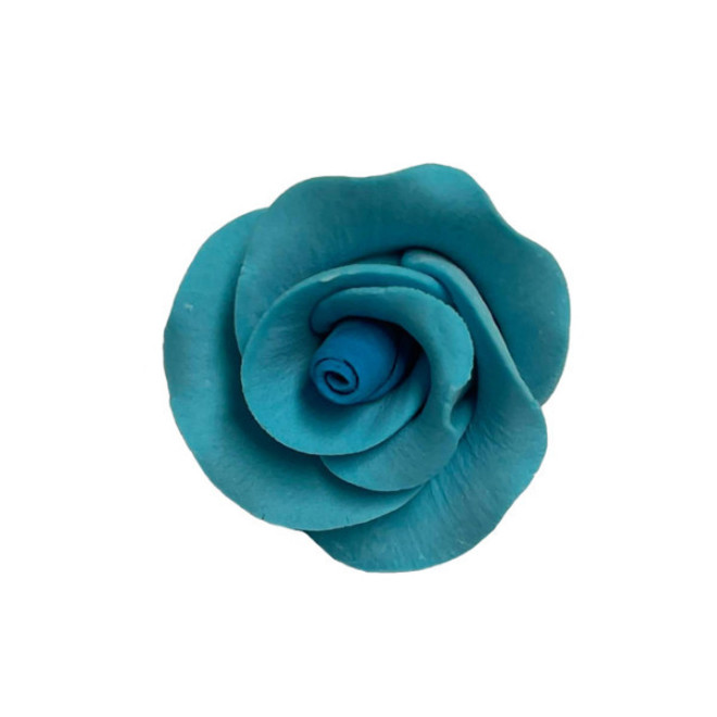 Icing Blue Roses 30mm, box of 52 image 0