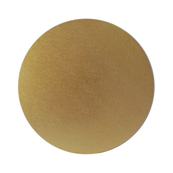 "Round 12"" MDF Board, Gold image 0"