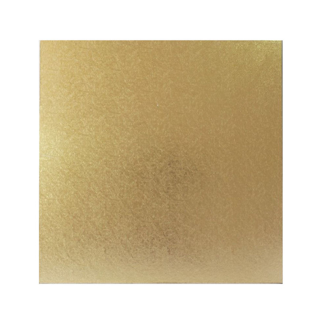 """Square 12"""" MDF Board, Gold image 0"""