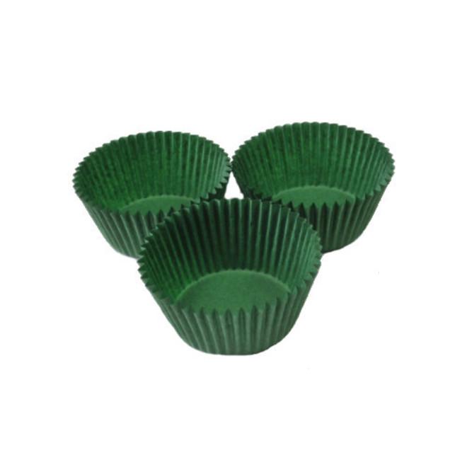 Standard Paper Cases Dark Green 55x32.5mm (500) image 0