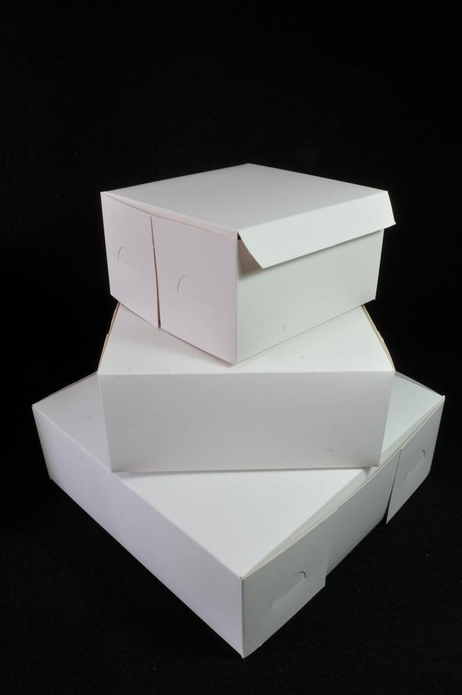 Cake boxes 9 x 9 x 4 inch, 229 x 229 x 102mm, Bundles of 100 image 0