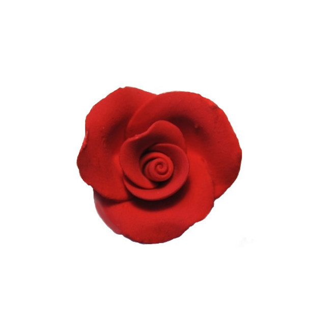 Icing Red Roses 30mm, box of 52 image 0
