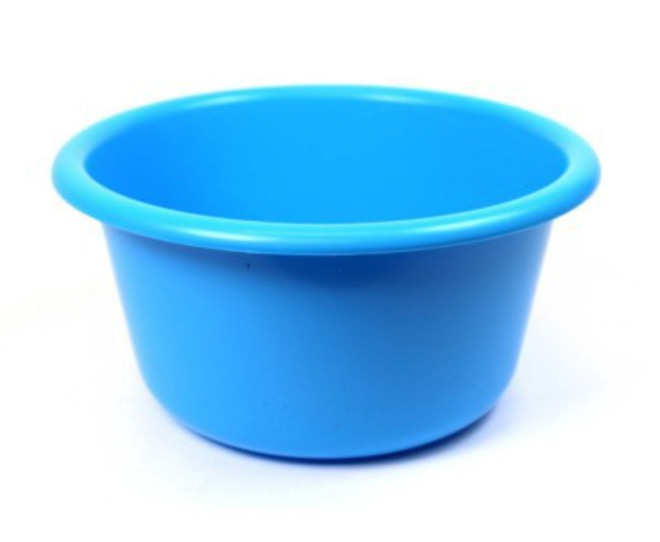 25cm diameter 4.2 litre Plastic Bowl (Astd colours) image 0