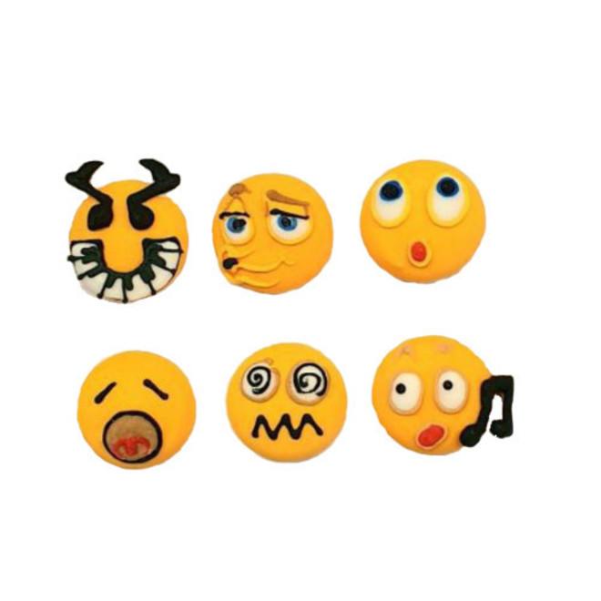 Emoji Faces - Musical 20mm (30) image 0