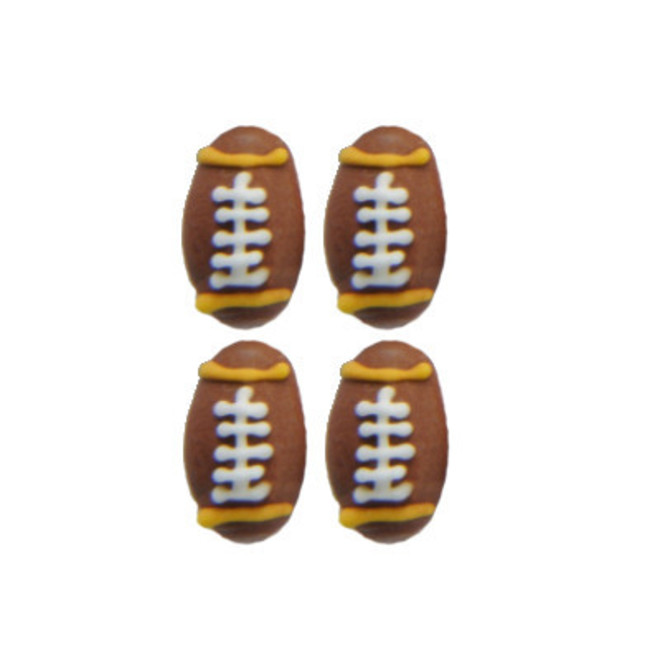 Icing Rugby Balls 17mm pkt 12 image 0