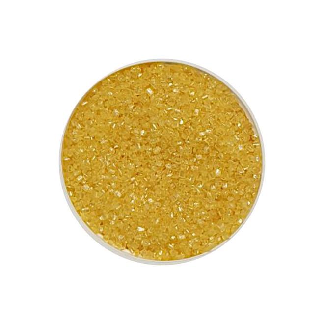 Sanding Sugar Yellow Sparkle (1kg bag) image 0