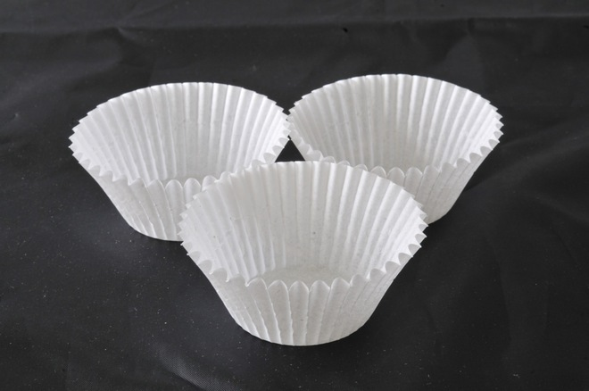 White Paper Cups  30x21mm (500) - SOLD OUT image 0