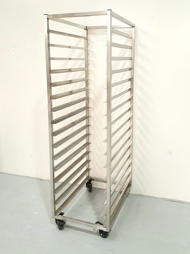 Production Rack S/Steel - 16 Shelf image 0