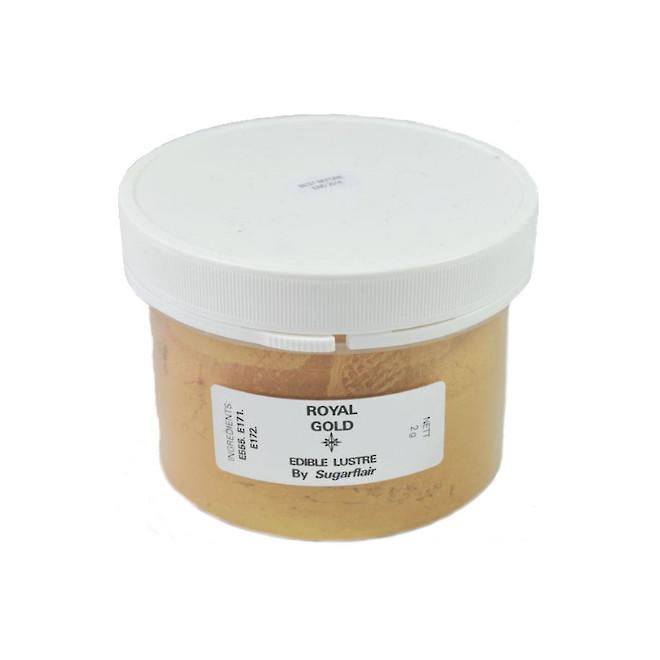 Sugarflair Edible Lustre Royal Gold powder 100g - SOLD OUT image 0