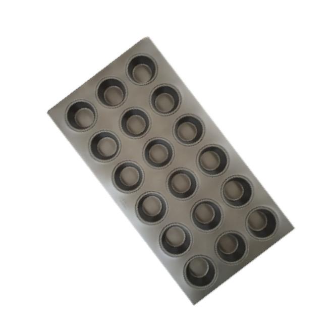 "16""  Texas Muffin Tray - 6x3 rows Teflon (18) image 0"
