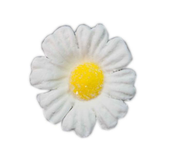 Daisy White Icing Flower 40mm (32) image 0