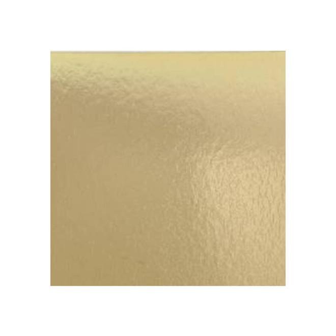 "175mm or 7"" Square 2mm Cake Card Gold - Bundle of 100 image 0"