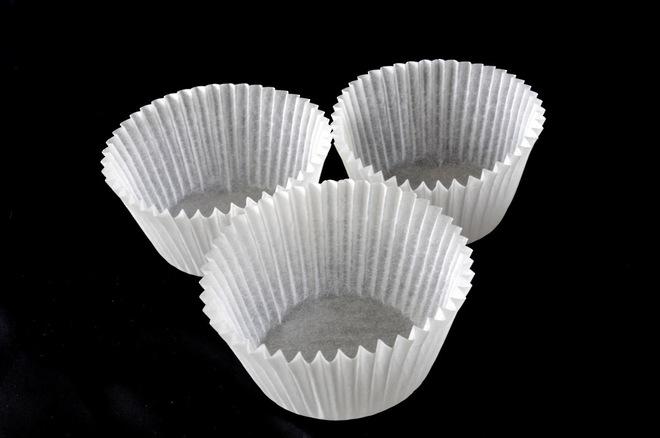 Mini muffin Paper Cases Off White 34x25mm (500) image 0