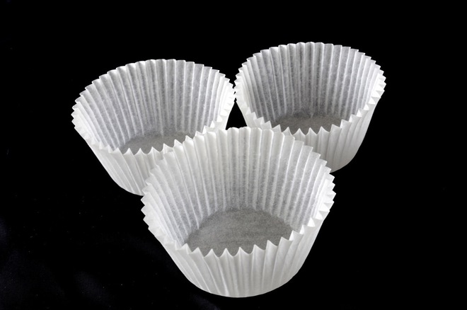 Cupcake Paper Cases Off White 44x30mm (500), image 0