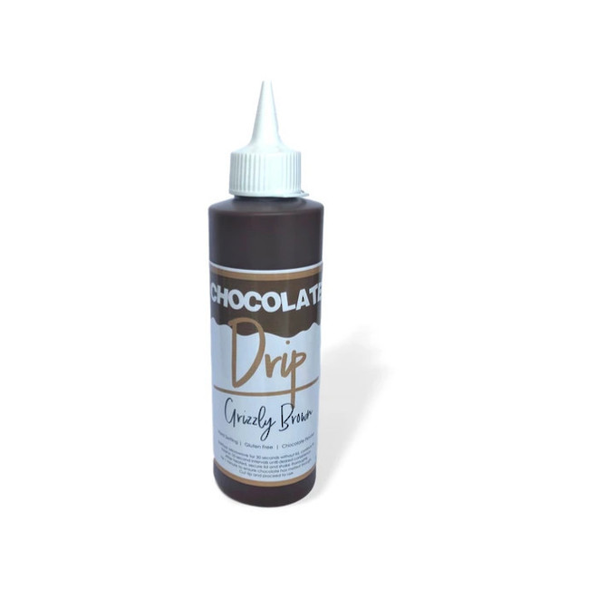 Chocolate Drip Grizzly Brown 250g image 0