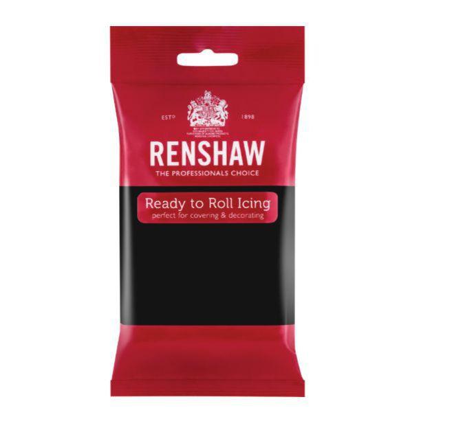 Renshaw Jet Black Icing 250g (Box of 12) image 0