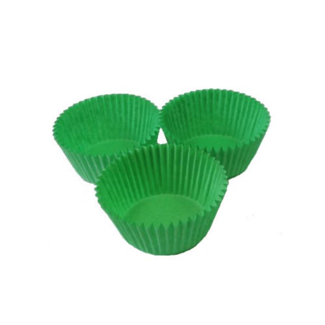 Standard Paper Cases Light Green 55x32.5mm (500) image 0