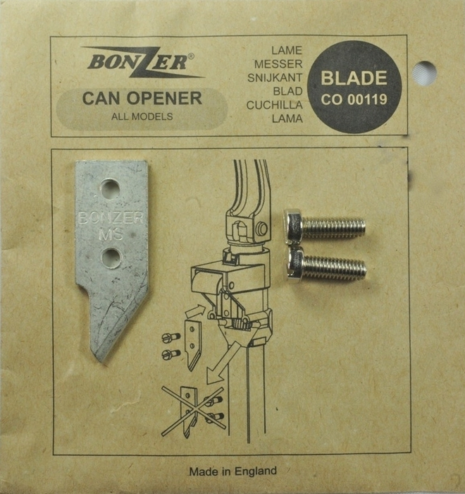 Bonzer Can Opener Blade (replacement part for can opener 4107) image 0